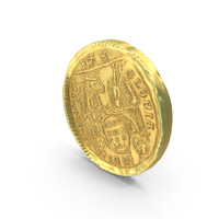 Solidus Roman Imperial Gold Coin PNG & PSD Images