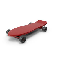 Skateboard Red PNG & PSD Images