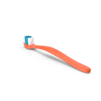 Tooth Brush Orange PNG & PSD Images