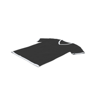 Male V Neck Laying White and Black PNG & PSD Images