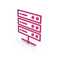 Symbol Server Metallic PNG & PSD Images