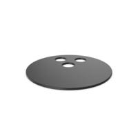 Black Symbol Bowling Ball PNG & PSD Images