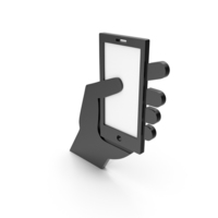 Cell Phone Black Icon PNG & PSD Images