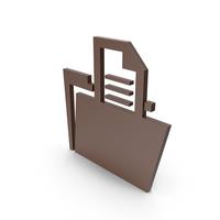 Folder Brown Symbol PNG & PSD Images