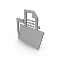 Folder Grey Symbol PNG & PSD Images