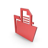 Folder Red Symbol PNG & PSD Images