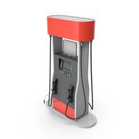 Gas Pump with Platform PNG & PSD Images