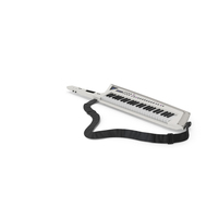 Keytar White PNG & PSD Images