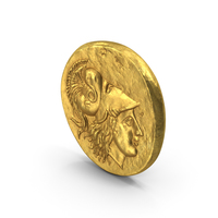Starter Alex Great Ancient Coin PNG & PSD Images