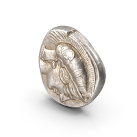 Tetradrachm Athens Ancient Coin PNG & PSD Images