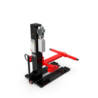 Car Lift Red New PNG & PSD Images