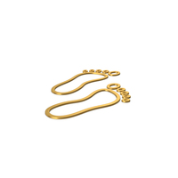 Gold Symbol Footprint PNG & PSD Images