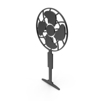 Fan Black Icon PNG & PSD Images