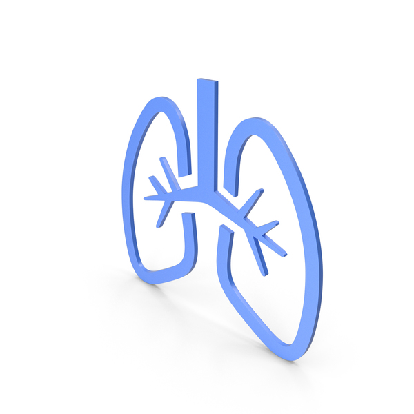 Lungs Blue Icon PNG & PSD Images