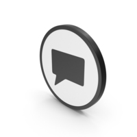 Icon Speech Bubble PNG & PSD Images