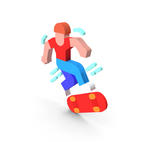 Skateboarder Icon PNG & PSD Images