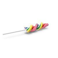 Rainbow Twist Lollipop PNG & PSD Images