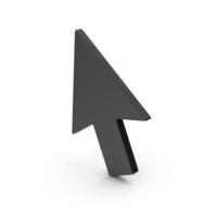Symbol Cursor Arrow Black PNG & PSD Images