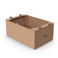Fruit Packaging Corrugated Cardboard Tray Box PNG & PSD Images
