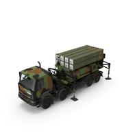 SAMP T Medium Range Air Defense Missile System PNG & PSD Images