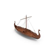 Viking Drakkar Folded PNG & PSD Images