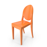 Chair Orange PNG & PSD Images