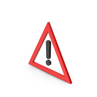 Symbol Warning Red PNG & PSD Images