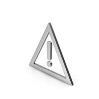 Symbol Warning Silver PNG & PSD Images