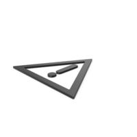 Black Warning Symbol PNG & PSD Images