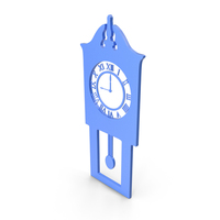 Clock Blue Icon PNG & PSD Images