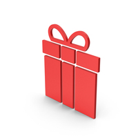 Symbol Gift Red PNG & PSD Images