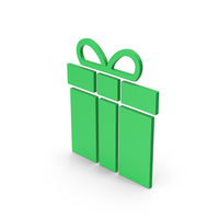 Symbol Gift Green PNG & PSD Images