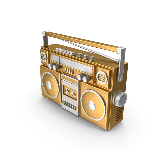 Radio Tape Player PNG & PSD Images
