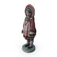 Ceramic Doll PNG & PSD Images
