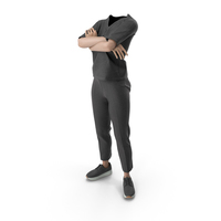 Women's Outfit Black PNG & PSD Images
