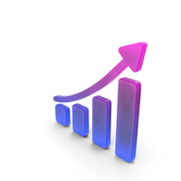 Stock Market Growth Color PNG & PSD Images