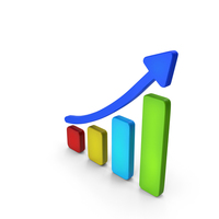 Stock Market Growth Multicolor PNG & PSD Images