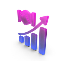 Stock Market Growth Relationship color1 PNG & PSD Images