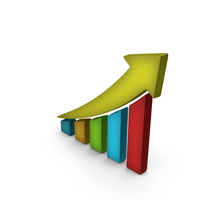 Stock Market Fast Growth Color PNG & PSD Images