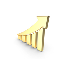Stock Market High Gold PNG & PSD Images