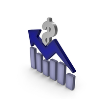 Stock Market Graph Dollar Color PNG & PSD Images
