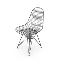 Wire Chair DKR Rusted PNG & PSD Images