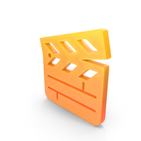 Clapper Board Logo Icon PNG & PSD Images