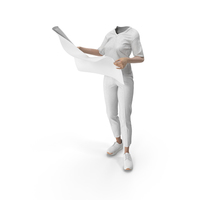 Women's Outfit White PNG & PSD Images