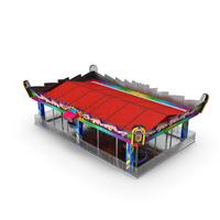 Bumper Cars Bertazzon Pavilion Platform PNG & PSD Images