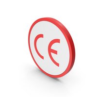 Icon CE Marking Red PNG & PSD Images