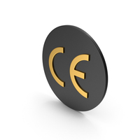 CE Marking Gold Icon PNG & PSD Images