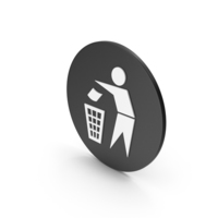 Do Not Litter Icon PNG & PSD Images