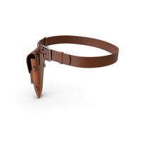 Holster and Strap Brown PNG & PSD Images