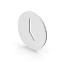 Time Clock Symbol PNG & PSD Images